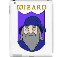 Wulfric the Wizard iPad Case/Skin
