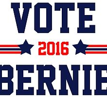 Bernie Sanders 2016 Vote by ozdilh
