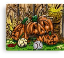 """October Essence"" Canvas Print"
