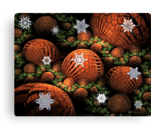 Frost on the Pumpkins Canvas Print
