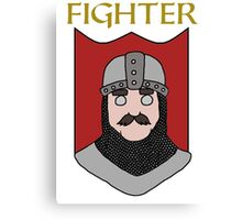 Finley the Fighter Canvas Print