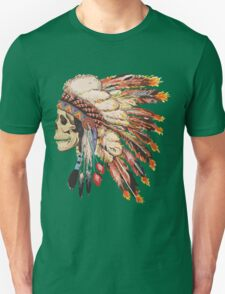 Feather Skull T-Shirt