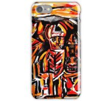 chief crow & the ancient masked indians...a portrait iPhone Case/Skin