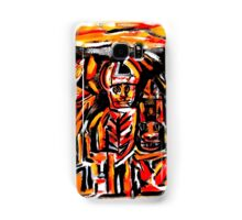 chief crow & the ancient masked indians...a portrait Samsung Galaxy Case/Skin