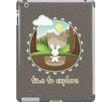 Time to explore iPad Case/Skin