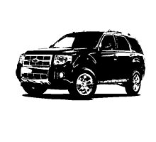 Ford Escape 2007–12 by garts