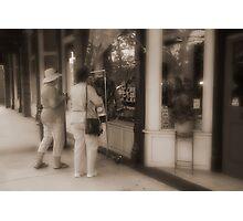 Street Sale Photographic Print