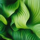 Leafs abstract by Martin Dingli