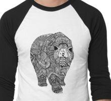 Deity Bear Men's Baseball ¾ T-Shirt