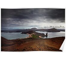 View from Bartolome, Galapagos Islands Poster
