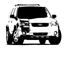 Ford Escape Limited 2004–07 by garts