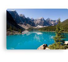 Moraine Lake, Banff National Park Canada Canvas Print