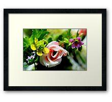Multitude of Flowers Framed Print