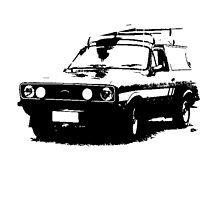 Ford Escort Sundowner Panel Van 1978 by garts