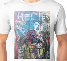 ABSTRACT HELTER SKELTER Unisex T-Shirt