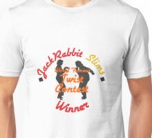 JackRabbit Slims Twist Contest Winner - Iphone / Ipod / Print / Shirt Unisex T-Shirt
