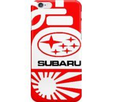 Subaru Grenade Box Logo iPhone Case/Skin