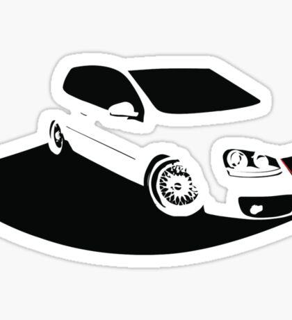 MK5 shadow Sticker
