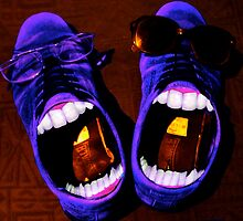 Blue Suede Shoes by Brian Damage