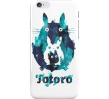 Totoro and Mini Totoros shirt top selling iPhone Case/Skin