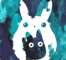 Totoro and Mini Totoros shirt top selling Sticker