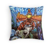 Getting Jiggy 'Wit' it! Throw Pillow