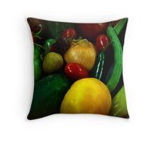 Fresh Produce Throw Pillow