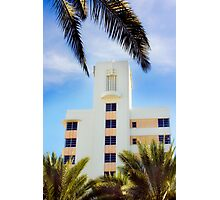 art deco style, south beach Photographic Print