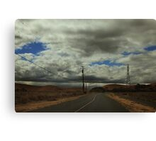 Wherever The Road Takes Me Canvas Print