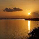 Sunrise Mobile Bay by Sandy Keeton