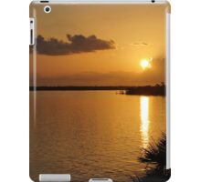 Sunrise Mobile Bay iPad Case/Skin