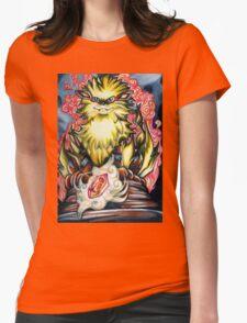 Fireborn Guardian Womens Fitted T-Shirt