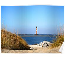 The Lighthouse on Morris Island Charleston Poster