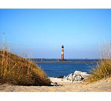 The Lighthouse on Morris Island Charleston Photographic Print