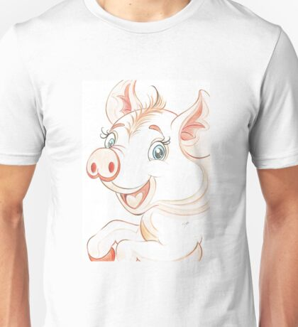 Jolly Miss Piggy Unisex T-Shirt