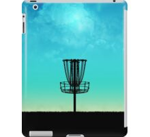Disc Golf Basket Silhouette iPad Case/Skin