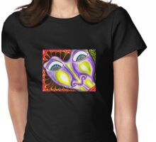 Face Invasion Womens Fitted T-Shirt