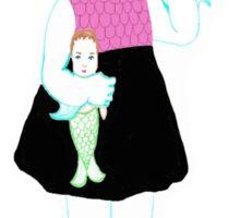 Baby Lagoona Blue Sticker