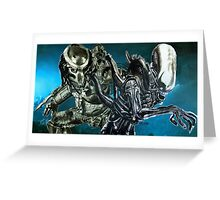 Hunter and Serpent - Derelict Greeting Card