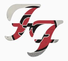 """Foo Fighters """"Greatest Hits"""" Logo Kids Clothes"""