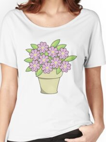Pretty Potted Plant Women's Relaxed Fit T-Shirt