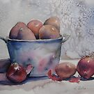 Lovely potatoes by Karin Zeller