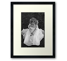Playing Dress up Framed Print