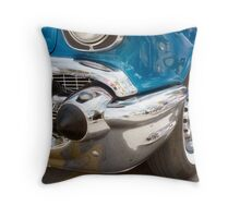 the blue bomb Throw Pillow