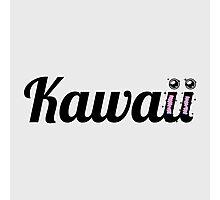 Kawaii Typography Photographic Print