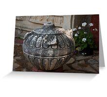Ephesus Stonework Greeting Card