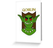 Greeil the Goblin Greeting Card