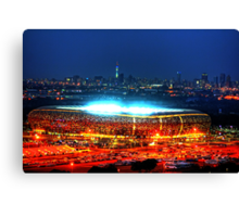 V I E W   B I G !!! SoccerCity / FNB Stadium @Night Canvas Print