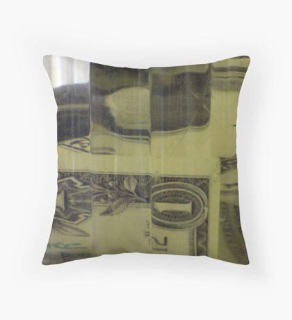 Cubist Tips Throw Pillow