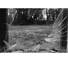 Broken Glass Photographic Print